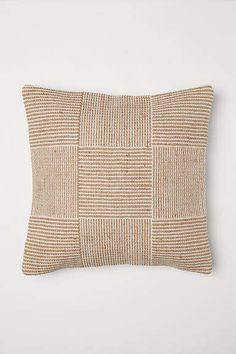 How Wide Is Home Decor Fabric Jute-blend Cushion Cover - Light beige - Home All Beige Cushions, Linen Pillows, Custom Pillows, Linen Bedding, Seat Cushions, Throw Pillows, Bedding Sets, Boho Cushions, Duvet Bedding