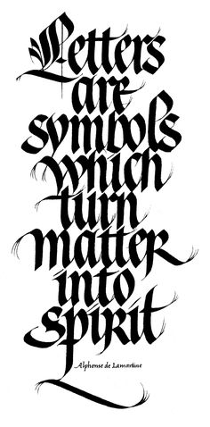 Gothicized Italic and Modern Batarde — Sheila Waters – Letter Works