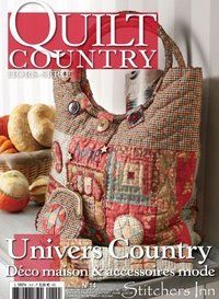 encore un Quilt country une mine. Paper Piecing, Baby Patchwork Quilt, Dora, Penny Rugs, Book Quilt, Book Crafts, Craft Books, Quilted Bag, Soft Dolls