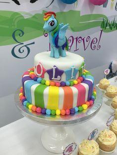 Rainbow Dash Cake!.. Más