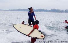 Jalan jalan : Surfing Pantai Bengkulu