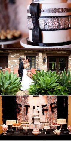 Beautiful black wedding.