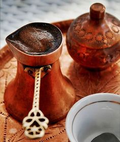 Турецкий кофе с чесноком