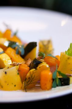 Heirloom Squash Salad With Pepita Purée and Pickled Shallots Recipe - NYT Cooking