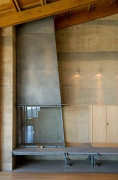 Cutler Anderson Architects, Bodega Residence. gorgeous rammed earth house