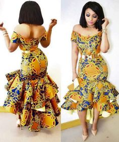 Ankara styles are the most beautiful pieces of clothing. Ankara Styles is one of the hottest African fashion you need to wear. We have many Women's African Fashion Style Outfits for you Perfe… Latest African Fashion Dresses, African Print Dresses, African Print Fashion, Africa Fashion, Fashion Prints, Fashion Design, African Prints, Nigerian Fashion, Best African Dress Designs