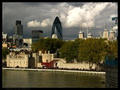 The Tower & the City of London  (Tower Bridge, London, England)