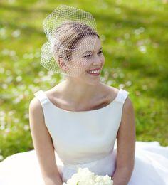 Brautschleier als Accessoire für die Braut / bridal veil by BelleJulie via DaWanda.com