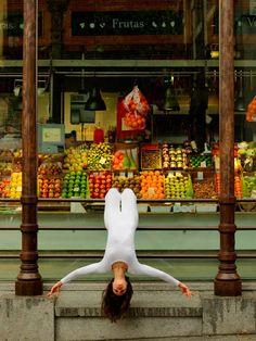 Anja Humljan, aparat fotograficzny i miejska joga | Fotoblogia.pl