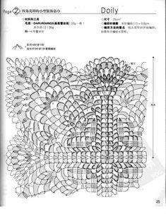 by poohquiltshop - issuu Crochet Circles, Crochet Blocks, Crochet Doily Patterns, Crochet Diagram, Crochet Chart, Crochet Squares, Thread Crochet, Crochet Granny, Filet Crochet