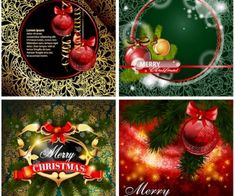 Christmas backgrounds with lace patterns vector