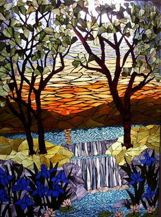 Day is Done by Mosaics by Marlene, via Flickr