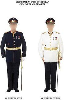 Chilean Army senior officers' parade dress uniform