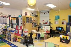 Astrobright's Brightest Teacher Classroom Reveal showcasing a before and after classroom makeover. Classroom Organisation, Teacher, Bright, Math, Math Resources, Early Math, Mathematics