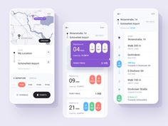Public Transport Ticket App designed by Kate Pavlenko. Connect with them on Dribbble; Ios 7 Design, Design Logo, Dashboard Design, Design Design, Design Trends, Design Ideas, Graphic Design, Bus App, Taxi App