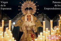 Virgen de la Esperanza, patrona de los Emprendedores y de Sobre3Ruedas