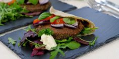 Sort bønneburger – Berit Nordstrand