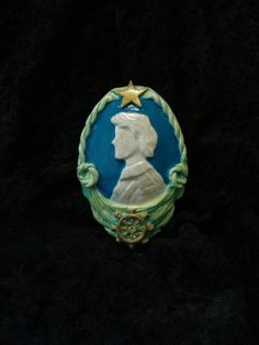 The Little Mermaid  Eric cameo pin by SapienStudios on Etsy, $20.00