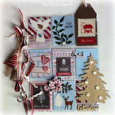 Blue Barn Creatief: Pocket Letter 'Winter'