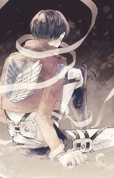(Levi) | Shingeki no Kyojin Un espejismo es el momento en el que creo un sueño