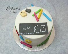 Estrade's cakes: tarta para un maestro
