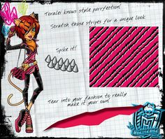Toralei Stripe - Monster High Wiki