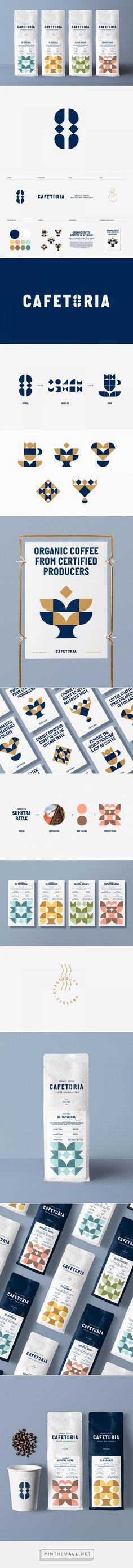 Cafetoria packaging design by Diferente - https://www.packagingoftheworld.com/2018/06/cafetoria.html