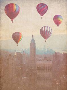 Balloons in new york city