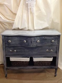 Recycled antique dresser