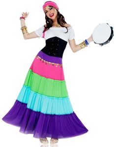 renaissance gypsy adult womens costume spirit halloween