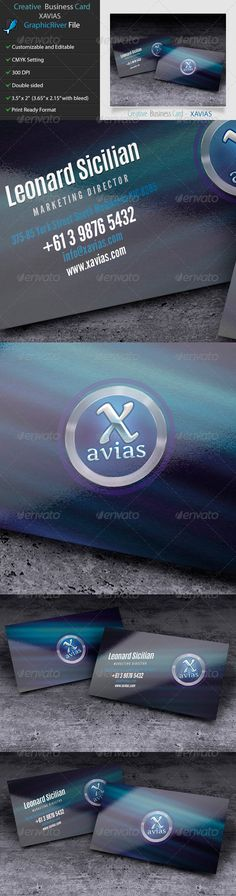 Creative Business Card - Xavias