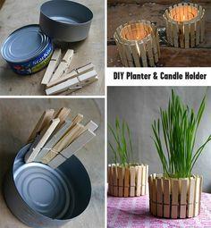 DIY - Planter & Candle holder