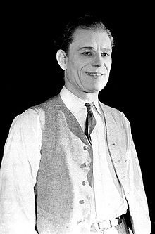 Chaney during the production of The Miracle Man, 1919