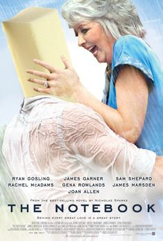 Ahahaha. If The Notebook was all about Paula Deen falling in love with a block of butter, it might actually be a watchable film.