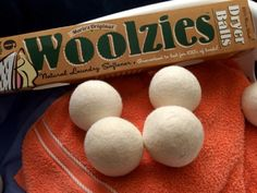 Woolzies are 100% pure wool dryer balls.  Throw these balls in your laundry for softer clothes, elim...Woolzies are 100% pure wool dryer balls.  Throw these balls in your laundry for softer clothes, eliminate wrinkles, static & drying time.  No chemicals or artificial fragrances.  Guaranteed to last for 100s of loads.  Handmade in Nepal from fine New Zealand wool.