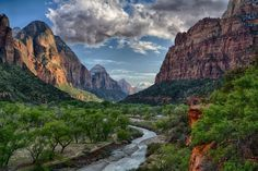 On this date in 1919, Zion became Utah's first national park.