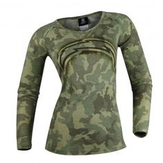 San Diego Chargers NFL Womens Camo Thermal (Green)