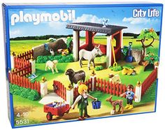 Shop for Playmobil Outdoor Care Station Playset. Get free delivery On EVERYTHING* Overstock - Your Online Toys & Hobbies Shop! Play Mobile, Building Blocks Toys, Building For Kids, Toys R Us, Kids Toys, Playmobil France, Pet Vet, Vet Clinics, Games To Buy