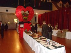 Valentines Day event at the Lyceum aboard MCRD Parris Island in Beaufort, SC.
