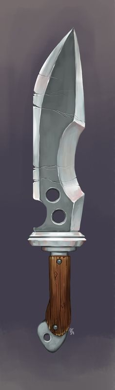 ArtStation - Beginner's Dagger, Becca Hallstedt