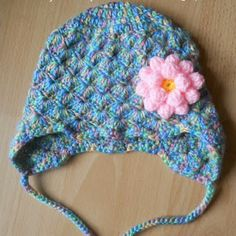 MY FREE PATTERNS**Free pattern for this awesome girly girl hat! Blessings to myhobbyiscrochet- This will be my next project! Spring is HERE!**