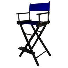 Bar-Height Director's Chair - Black Frame : Target