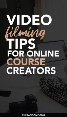 How to create video content if you are camera-shy? Video filming tips for online course creators! Learn to create effective video content without professional equipment in your home-studio! Video content will build the trust in your clients and improve your sales! #videocontent #videomarketing #videofilming #contentmarketing #mompreneur
