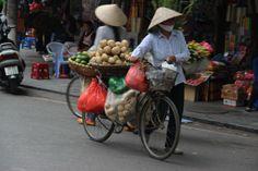 Hanoi street scene, These Walking Boots