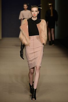 Elisabetta Franchi. See all the best looks from Milan fashion week fall 2015.