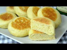 Cómo hacer pan sin horno ¡En sartén! Fácil y delicioso - YouTube
