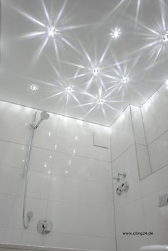 Traumhafter Sternenhimmel unter einer matten CILING Spanndecke Plumbing, Remodel, Bathroom Plumbing, Led, Bathrooms Remodel