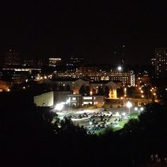 "A night view of #UofSC and @Mary Sue McGinnis Blank, SC from Bates House residence hall. ""@Shannonmary88: USC at night #uofsc"""