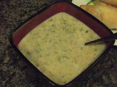 Low Carb Broccoli, Ham and Cheese soup - My own recipe, perfect for a cold winter night!