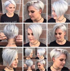 easy and cute short hairstyles for round face 5 – JANDAJOSS.ME 36 easy and cute short hairstyles for round face 5 – JANDAJOSS.ME easy and cute short hairstyles for round face 5 – JANDAJOSS. Short Pixie Haircuts, Cute Hairstyles For Short Hair, Hairstyles For Round Faces, Pixie Hairstyles, Simple Hairstyles, Pixie Haircut For Round Faces, Pixie Cut Round Face, Beautiful Hairstyles, Short Hair Styles For Round Faces